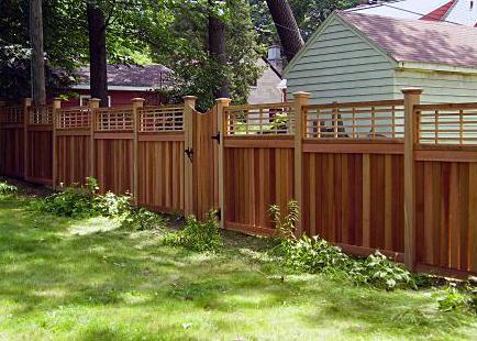What is the process for installing a fence?