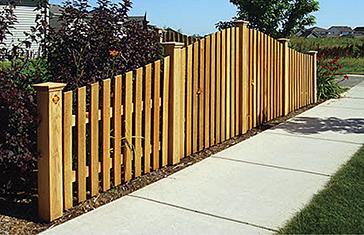 Wood Fencing - Qual Line Fence